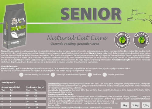 Natural Cat Senior Light