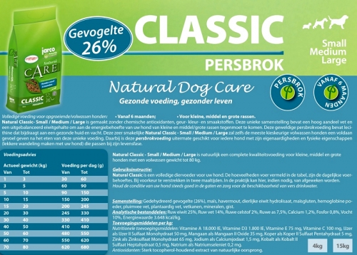 Natural Classic PUPPY Persbrok