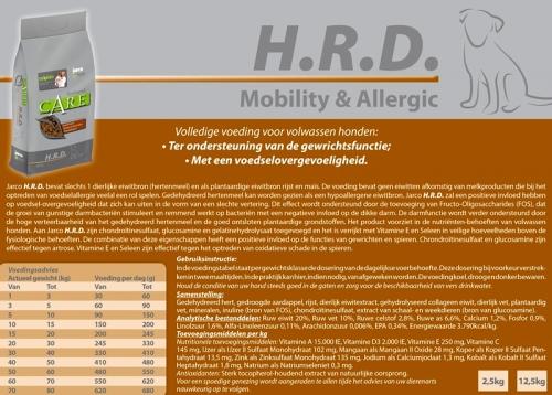 Natural H.R.D. Mobility/Gewrichten