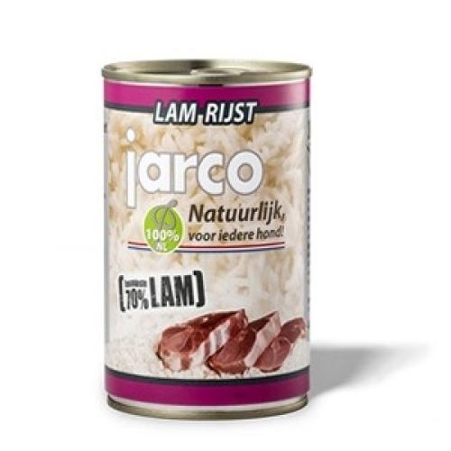 Blikvoeding Lam/rijst 400 gr verpakt a 6 st