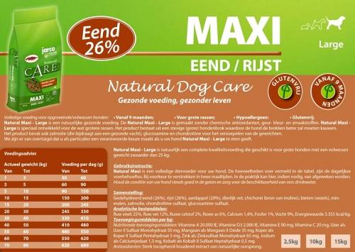 Natural Maxi Eend / Rijst