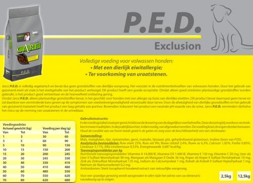 Natural P.E.D. Exclusion/Vegetarisch
