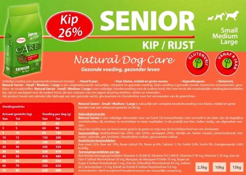 Natural Senior Kip/Rijst