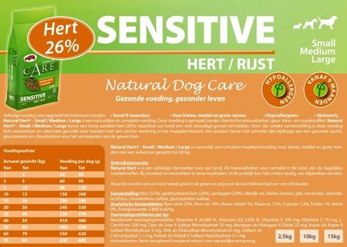 Natural Sensitive Hert/Rijst